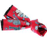 Kundenspezifische Wollen und Polyester gemischter Schal für Dame