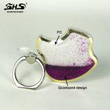 Suporte do anel do Quicksand da forma de Shs Apple para o telefone móvel