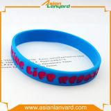 Подгонянный Wristband силикона спорта резиновый