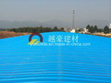 Telha do telhado do PVC do plástico do certificado do ISO/telhado isolados Sheet/UPVC da cor