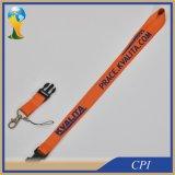 Lanière orange de 4/5 pouce avec la courroie de téléphone