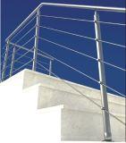 Systeem van de Leuning Ss304 316 van de veiligheid het Decoratieve Omheinende