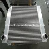 El aire refrigerado placa del motor Diesel Fin del cambiador de calor del refrigerador de aceite