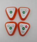 외침 벨을%s 가진 전시를 포함하여 통과되는 무선 웨이터 외침 시스템 대중음식점 외침 세륨