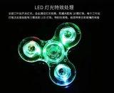 Finger-Unruhe-Spinner-Spielzeug der Fabrik-bestes Preis Bluetooth Lautsprecher-Musik-LED helles