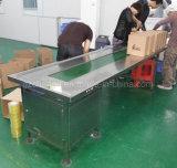 correia transportadora da tabela da fundição de aço inoxidável