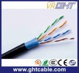 Cable de datos al aire libre de UTP Cat5e con RoHS y Ce