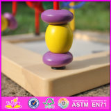 La nueva manera del diseño 2016 embroma la bola de madera W11b129 del juguete del laberinto