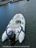 Liya 3.8m Rippen-aufblasbares Boots-steifer Fiberglas-Boots-Rumpf