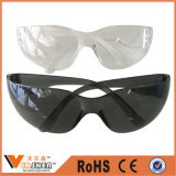 Lunettes remplaçables en nylon bon marché de travail de lunettes de sûreté de protection d'oeil
