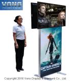 Soporte de visualización de la exposición TV con el sostenedor del cartel