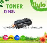 Cartucho de toner preto Ce505A de alta qualidade diretamente para HP