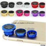 De universele Mobiele Klem van de Lens van de Camera van de Telefoon de Vastgestelde Lens van het Oog van Vissen voor de Camera van de Telefoon van de Cel