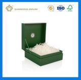 Contenitore cosmetico stampato di lusso di qualità superiore di cartone di colore completo per profumo (con la decorazione del documento di seta)