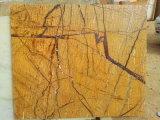 Mármol de Brown de la selva tropical de la importación del precio de fábrica para la decoración casera