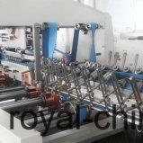 Automatisch gewölbtes Kasten-Hochgeschwindigkeitsfaltblatt Gluer mit ISO9001 Vor-Falten