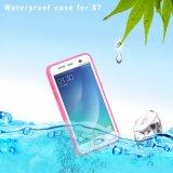 Caso delgado estupendo impermeable de la cubierta del teléfono celular 2017 para Samsung S7