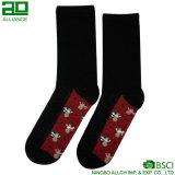 Igel-Muster-kundenspezifische Baumwollgroßverkauf-Socken
