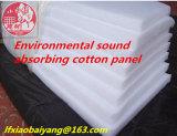 Couverture acoustique de fibre de fibre de polyester de laines de feutre acoustique acoustique blanc de panneau