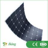painel solar Semi flexível de 120W Sunpower