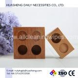 De Dienbladen van het bamboe voor het Samengeperste Weefsel van het Muntstuk van de Handdoek