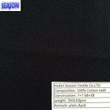 Tela de algodón teñida 340GSM de la tela cruzada del algodón 7*7 68*38 para la ropa de funcionamiento