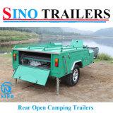 Harde het Kamperen van de Reis van de Caravan van de Vloer Aanhangwagens