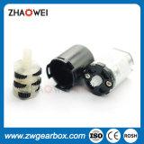 mini motor con engranajes plástico 3V de 12m m