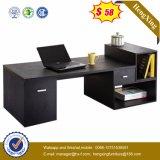 Muebles de oficinas de madera negros del vector E1 del ordenador del encargado (HX-NS3119)