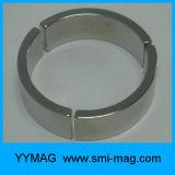 Starke Neodym-Lichtbogen-Segment-Magneten für Magnet-Motor