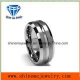 Anillo del tungsteno tendencia de la moda de joyería de tungsteno superficie mate Tst2866
