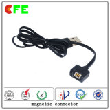2pin Mannelijke en Vrouwelijke Magnetic Cable Connector voor Bluetooth