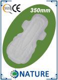 290мм Мягкий хлопковый Женщины санитарные салфетки с высоким поглощением