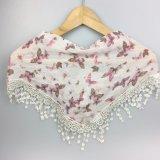 Fashoinable ha stampato la sciarpa del triangolo della farfalla nella signora Scarves dell'accessorio di modo della Cina