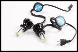 크리 사람 LED 헤드라이트 장비 광속 전구 6000k 백색 고성능의, 방수 또는 방진 LED 헤드라이트