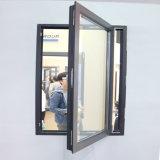 Materieller Aluminiumrahmen beschichtete reflektierendes GlasCusomized Flügelfenster-Schwingen-Fenster