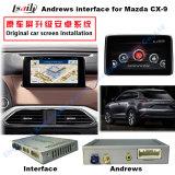 Mazda Cx 9를 위한 GPS 인조 인간 항법 영상 공용영역 (MZD는 시스템을 연결한다)