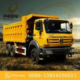 アフリカの市場のためのベンツの技術の使用されたBeiben 10の車輪のダンプカーのダンプトラック6X4 340HP