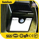 운동 측정기를 가진 이제까지 감응작용 램프 LED Brite 태양 빛
