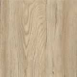 Étage 100% en bois auto-adhésif de PVC de regard de Brown de Vierge
