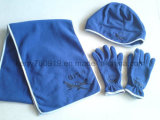 Polar Fleece Cap / Anti-Pilling Polar Fleece Set / Warm Set (DH-PPI5142)