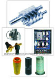(7.5KW) correia refrigerar de ar 10HP que conduz o compressor de ar industrial do parafuso
