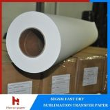 45GSM, 55GSM Low Weight Sublimation Transfer Paper voor Textile