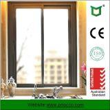 Erstklassiges Aluminiumprofil-schiebendes Glasfenster hergestellt in China