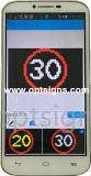 Acoplado al aire libre de la pantalla de la tarjeta de mensaje del Portable VM LED, visualización de LED solar de la señal de tráfico