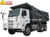 HOWOトラック70トンの420HP鉱山のダンプトラックのトラクターの