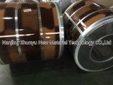 L'acciaio laminato a freddo preverniciato preverniciato ha galvanizzato le bobine d'acciaio ricoperte colore per i comitati & le coperture dell'elettrodomestico