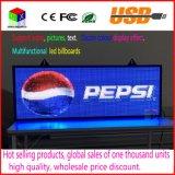 Panneau d'affichage mobile de défilement RVB DEL de signe polychrome d'intérieur de message de P5 pour la publicité de système