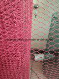 Red hexagonal galvanizada sumergida caliente con alta calidad