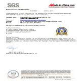 Fibra a macroistruzione dei pp con l'iso, certificazione Uesd dello SGS per materiale da costruzione